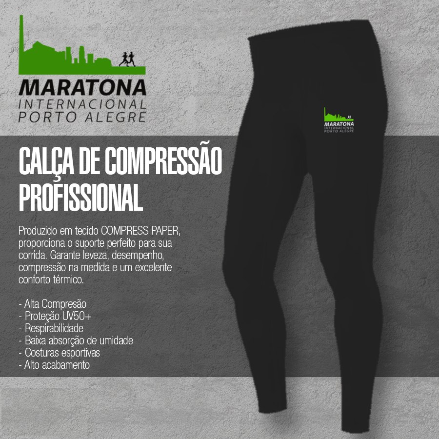 CALÇA COMPRESSÃO PROFISSIONAL